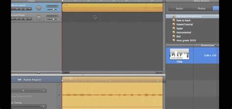 Garageband To Imovie How To Extract Audio Tracks From Using Imovie And