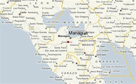 managua nicaragua map managua location guide