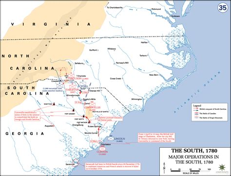 File:Revolutionary War   Major Operations in the South