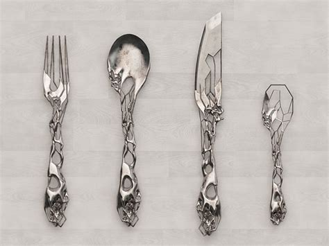 unique cutlery unique cutlery set by isaie bloch silver