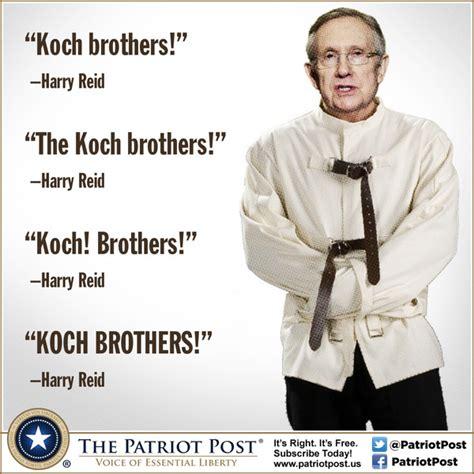 Meme Jacket - humor harry reid s koch brothers straight jacket the