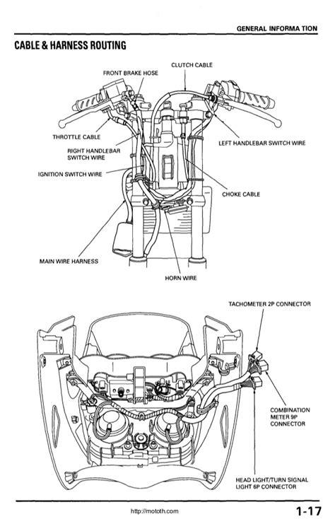 honda helix 250cc engine diagram honda hornet 250cc