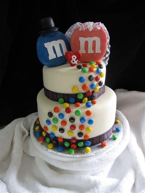 Mms Cake   m m wedding cake cakecentral com