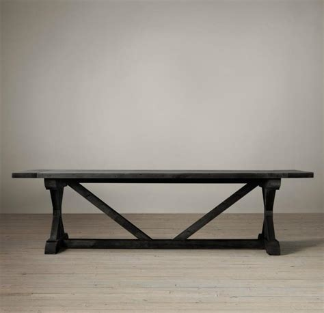 restoration hardware trestle table 17 trestle tables