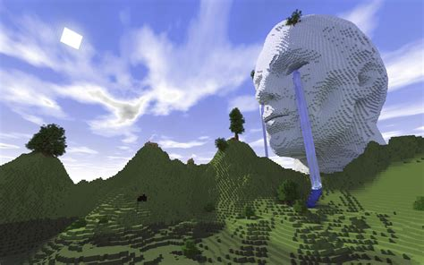 when was minecraft made made a build and rendered it minecraft