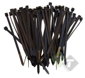 Kabel Ties 370mm Kabelbinders Zwart 4 8mm X 370mm 100 Stuks Trailer And