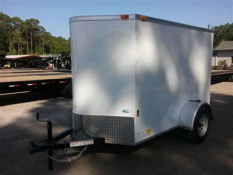 Trailer Back Door by Gans58sa Cargo Mate 5 X 8 Enclosed Cargo Trailer W