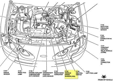 ford vehicle locator ford vehicle speed sensor location