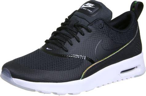 nike air max thea premium  shoes black