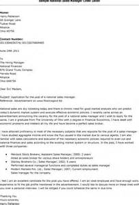 Cover Letter Sle Letter by Cover Letter For Sales Profile