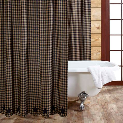cabin shower curtains tea cabin shower curtain patchwork 72x72 country primitive