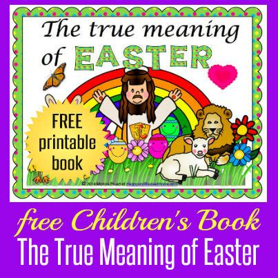 what is significance of easter your children s easter book here happy and
