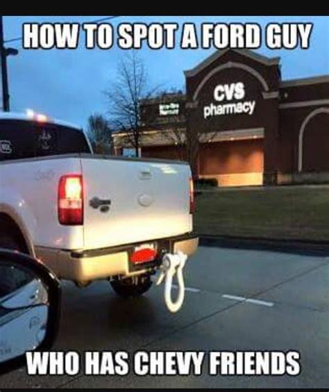Chevy Memes Against Ford
