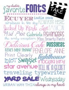 Printable To Do List My Favorite Free Fonts Take 2 How To Nest For Less