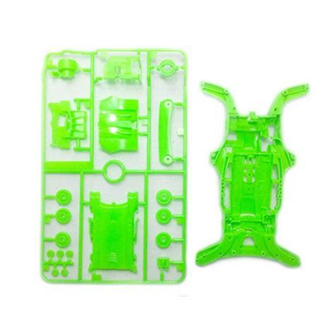 tamiya 95255 jr ar chassis set fluorescent color green wah wah model shop