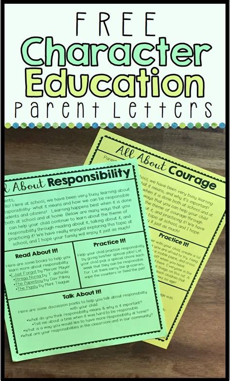 Character Education Letter To Parents 25 best ideas about teaching character on teaching character traits character