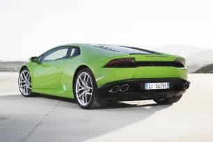 Pictures Of The 2015 Lamborghini 2015 Lamborghini Huracan Lp 610 4 Green Rear Three Quarter