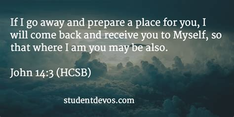 The Place Bible Verse Daily Devotion And Bible Verse 14 3 Student Devos Youth And Devotions And