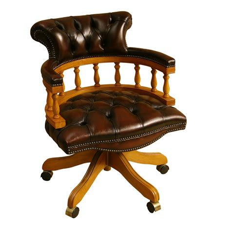 Captains Chairs Swivel by Inadam Furniture Captains Chair Choice Of Leather Colours Reproduction Furniture Inadam