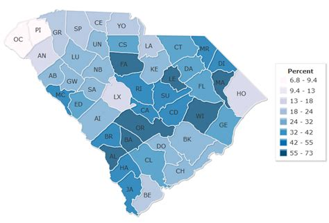 political map of south carolina 14 maps that explain south carolina s political geography