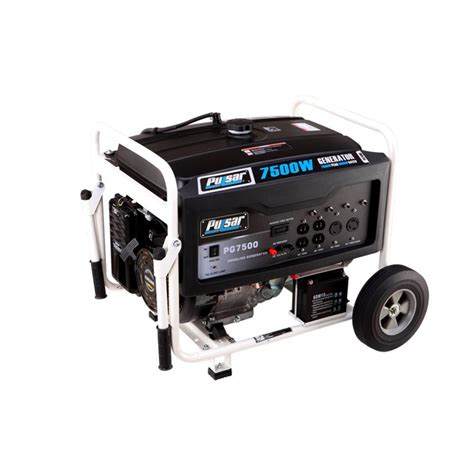 pulsar 7 500 watt gasoline powered electric start portable