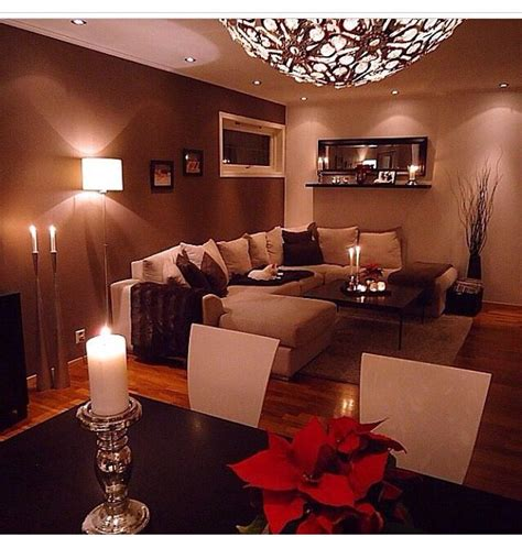 cozy livingroom really nice livingroom wall colour very warm cozy never would have thought of that colour