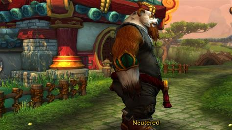Set Anak Eantai pandaren males don t get fluffy tails world of