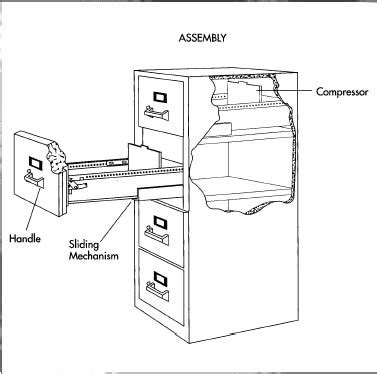 How file cabinet is made   material, making, used, parts