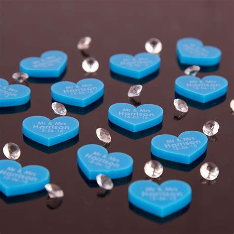 Personalised Engagement Decorations by Personalised Wedding Table Decorations 300