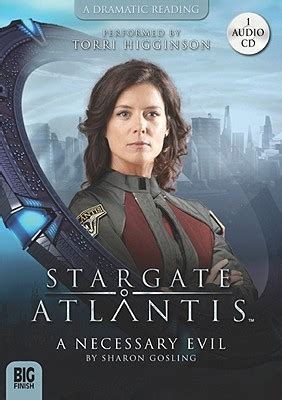 a necessary evil books stargate atlantis a necessary evil by gosling
