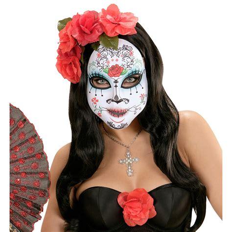 imagenes de halloween maquillage dia de los muertos maske