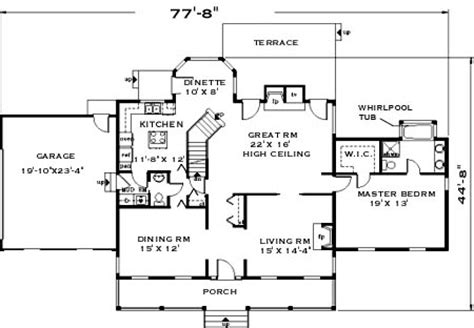 sweet home 3d floor plans sweet house plans 171 home plans home design