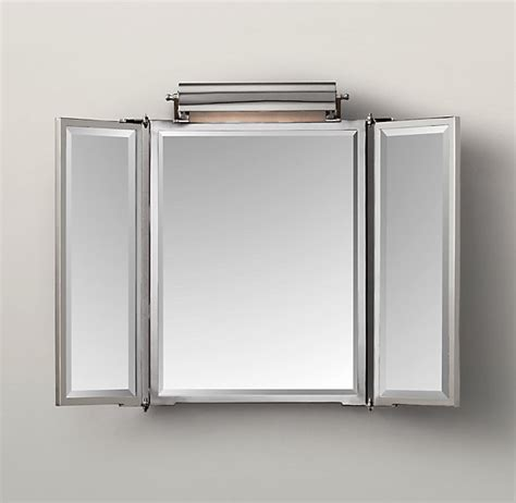 Tri Fold Bathroom Wall Mirror Tri Fold Bathroom Mirror Decor Ideasdecor Ideas