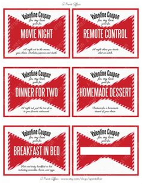 free printable love coupons for my wife valentine s day coupon book printout like these ones it