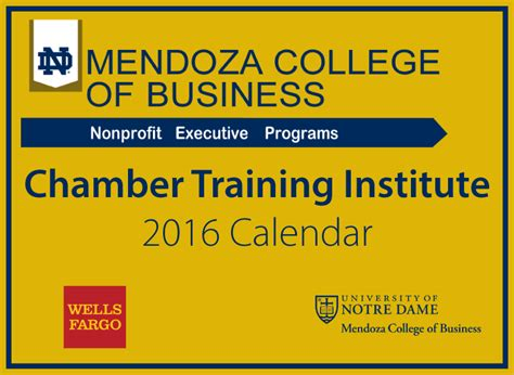 Mendoza Mba Class Schedule by Nglcc Chamber Institute 2016 Nglcc Org