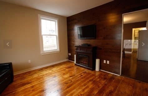 would love to take wood laminate do an accent wall like this spare bedroom ideas