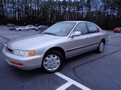 98 honda accord mpg sell used 1997 accord all power clean 30mpg gas saver