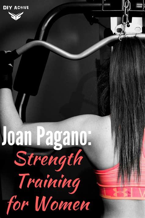 joan pagano strength training  women diy active