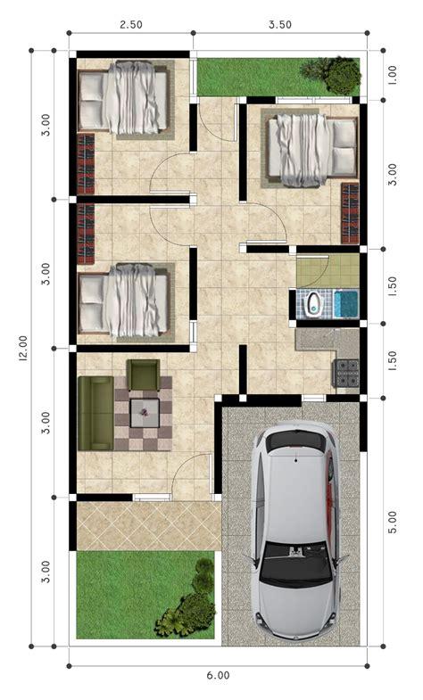 desain rumah 3 kamar mushola 33 koleksi desain denah rumah 3 kamar tidur modern dan