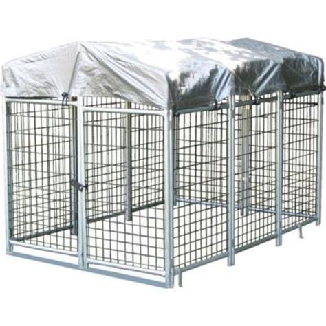 kennels home depot options plus 4 ft x 6 ft x 4 ft folding kennel qkf464 the home depot