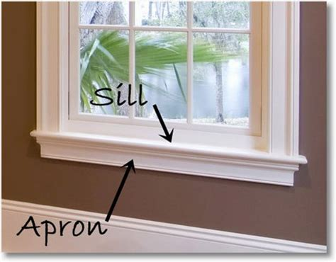 Wood Effect Window Sills Don T Forget Your Apron Window Casing Sills And More