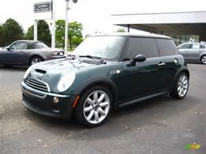 Green Mini Cooper 2006 Racing Green Metallic Mini Cooper S Hardtop