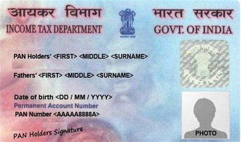 pan card permanent account number pan here s all you need to
