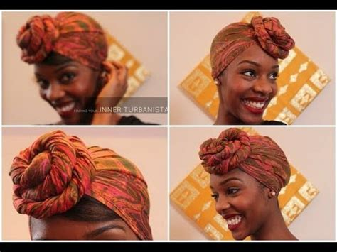 turban tutorial front side twist hair my front bun turban tutorial youtube