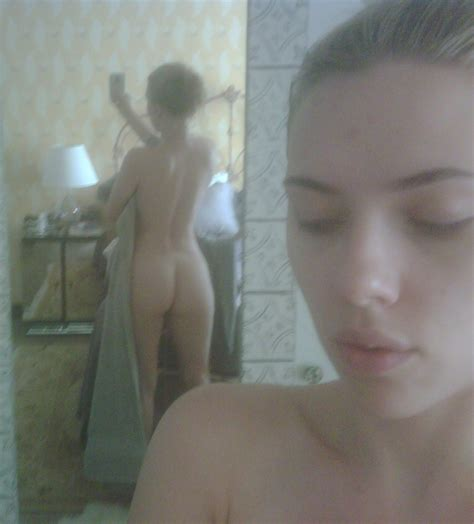 Scarlett Johansson Nude Ass Celebrity Nipple Slips