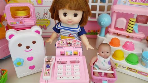 doll mart baby doll mart register eggs and food toys play