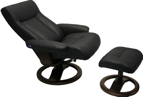Ergonomic Recliner Chair - black leather hjellegjerde scansit 110 ergonomic lounge