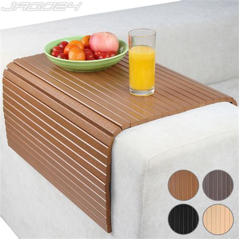 flexible wooden sofa armrest tray table the green head sofa arm rest tray couch chair cover flexible snack table