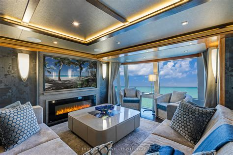 serenity luxury yacht  interior   thierry