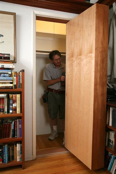 secret bookcase door plans 17 best images about murphy beds hidden rooms